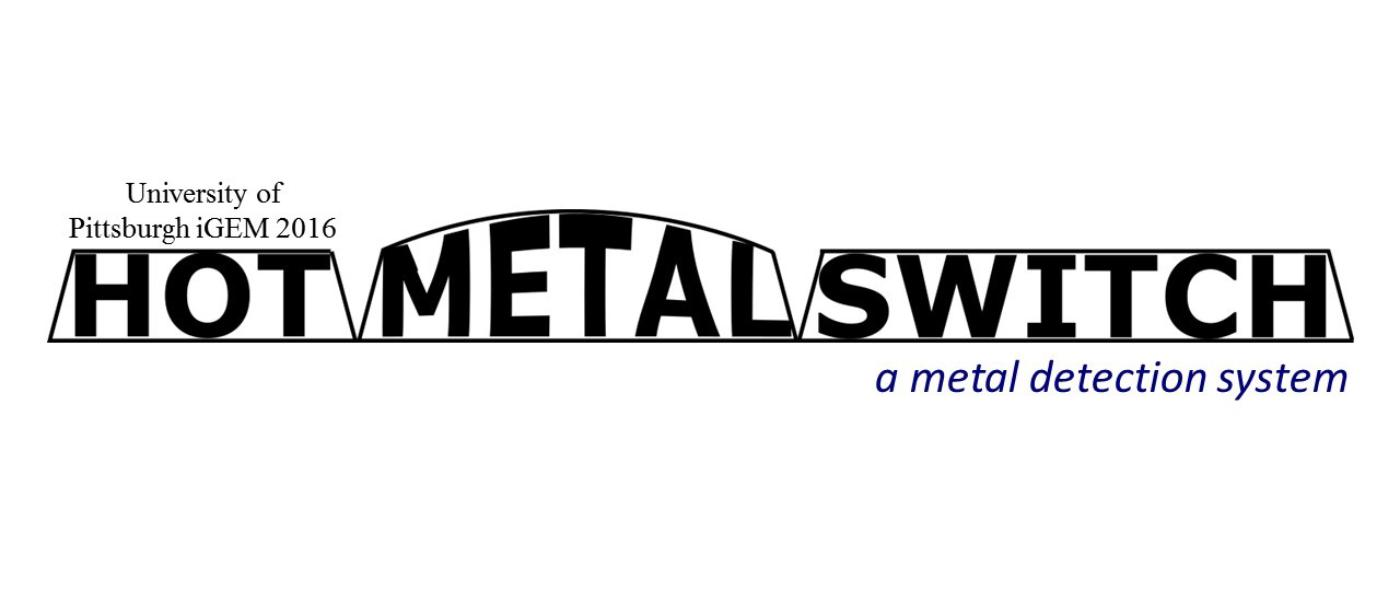 Hot Metal Switch: Synthetic In Vitro Gene Circuit for the